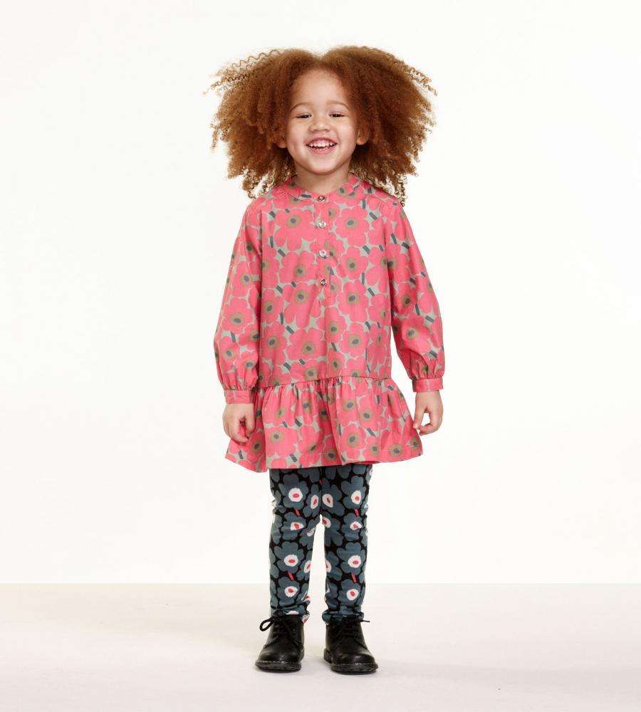 [Kids] Inke 2 ワンピース【Marimekko】/ファッション・アパレル キッズ・子供服子供用トップス【marimekko(マリメッコ)・PAUL & JOE(ポール&ジョー)などのファッションブランド通販サイト 「LOOK @ E-SHOP」(ルック アット イーショップ) 公式通販】/52_1_52174345376