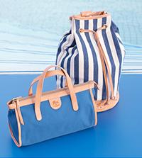 【IL BISONTE】夏らしいキャンバスバッグも入荷。