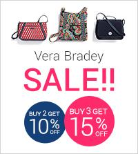 【Vera Bradley】セール商品<br /> 2点お買い上げで10%OFF<br /> 3点以上お買い上げで15%OFF!!