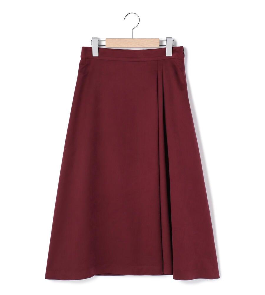 ライトスエード スカート