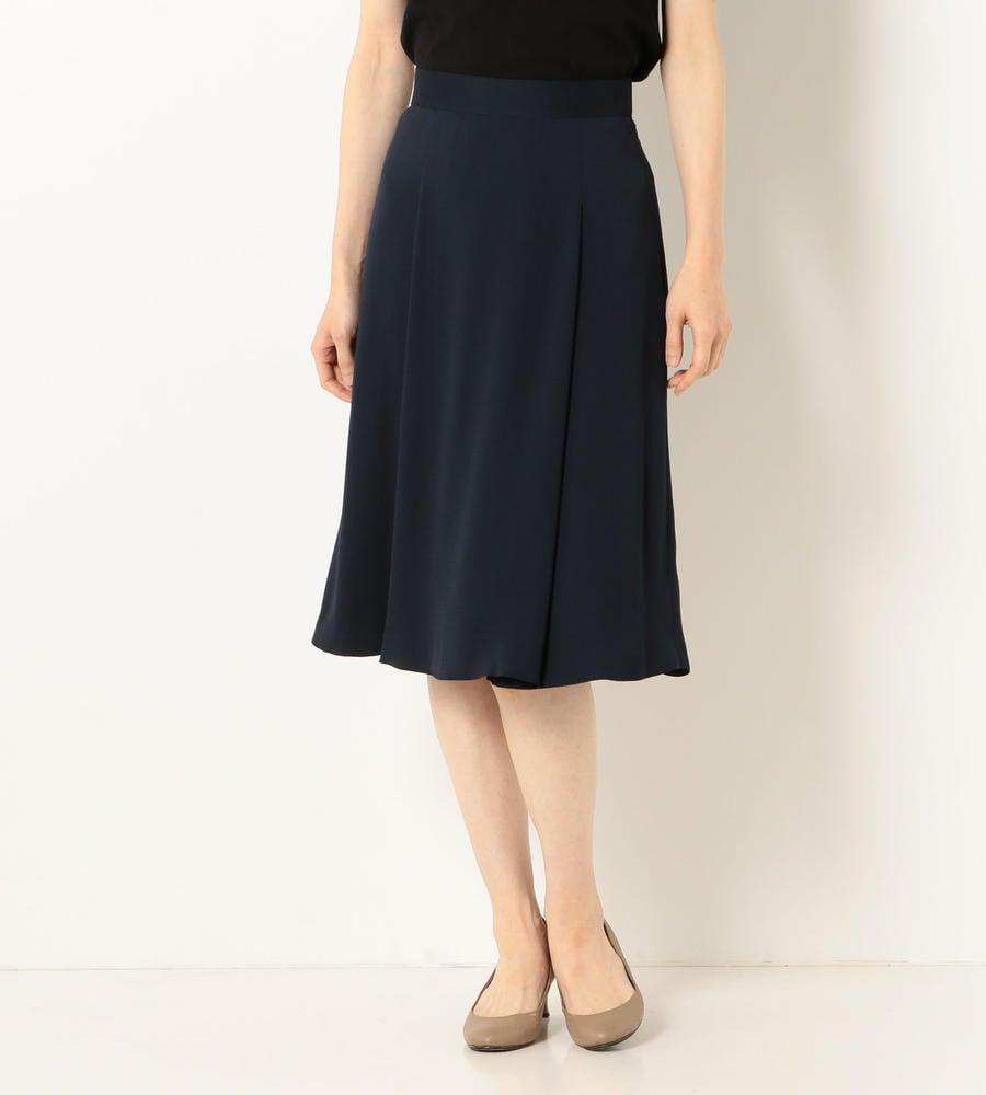 【50size~】サテンジョーゼット スカート