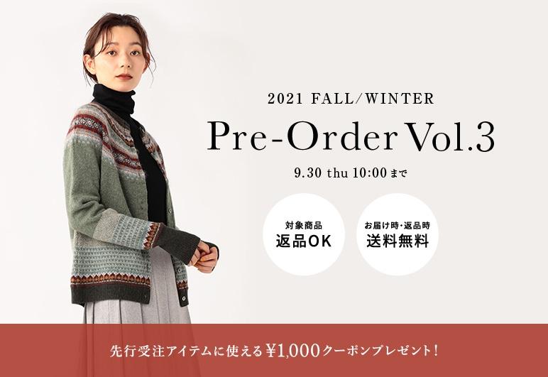 【SC】21FW 先行受注_vol.3